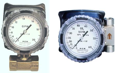 指針式顯示流量計
