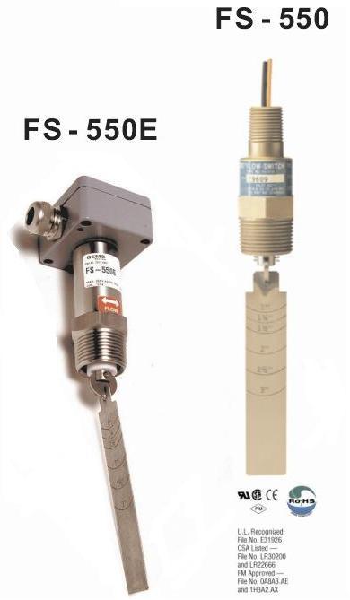 FS-550 / FS-550E 系列流量開關