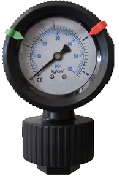 PP隔膜壓力錶