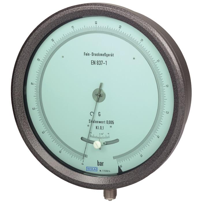 高精度檢測儀錶 等級 0.1 , 0 ... 1600 bar