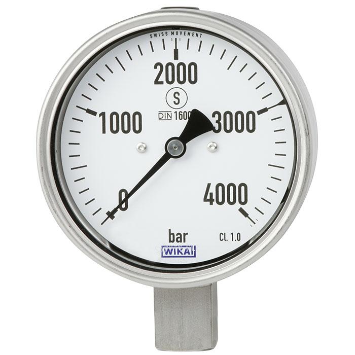 PG23HP-P 重負載型不銹鋼壓力錶 0 ... 6000 bar
