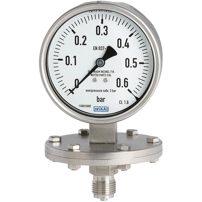 隔膜壓力錶 max. 40 bar