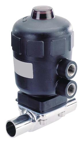 2031 型兩位兩通氣動隔膜閥 (帶不銹鋼外殼)